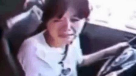 女司机科目二考试顺利完成, 却被判不合格, 看完监控自己想哭!