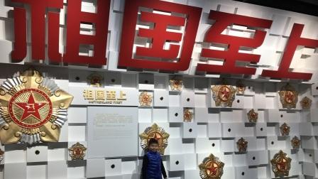 【6岁半】1-27哈哈寒假活动,参观龙华烈士纪念馆VID_120520