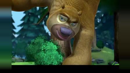熊出没: 熊二给大家展示体操王子的魅力, 帅不过三秒系列