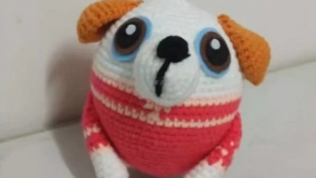 【云娘手作】 蛋型十二生肖---狗 配件与缝合  编织教程  六 (第60集)