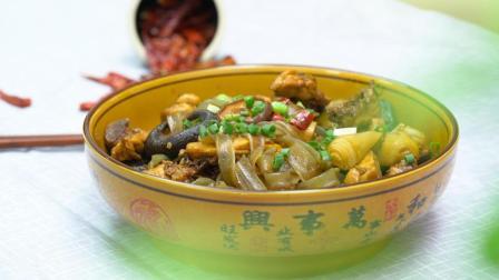 东北菜魂—小鸡炖蘑菇