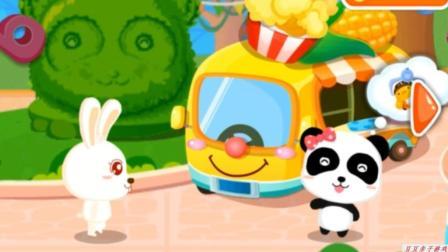 宝宝巴士乐园之宝宝打地鼠动画玩具视频