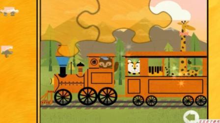托马斯和它的朋友们之拼图托马斯玩具动画视频