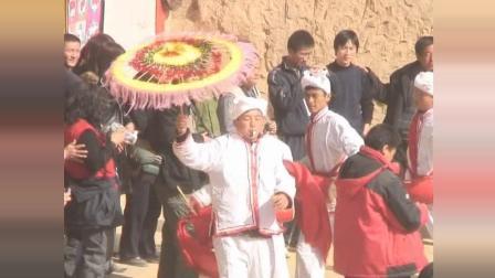 陕北农村正月闹红火