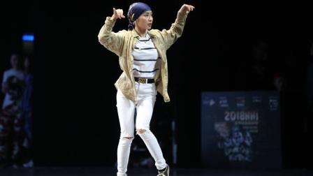 2018HHI裁判秀: 随心舞动 胤儿曼妙舞姿夺取视线与人心