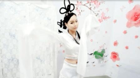 《妆台秋思》古典舞 嫦娥仙子造型水袖舞