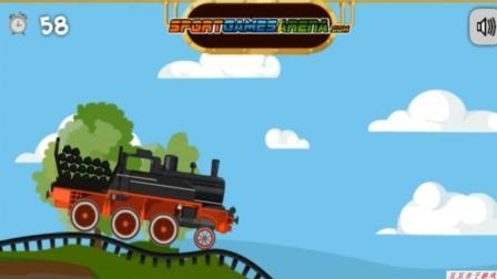 托马斯小火车之小火车拉货物玩具动画视频