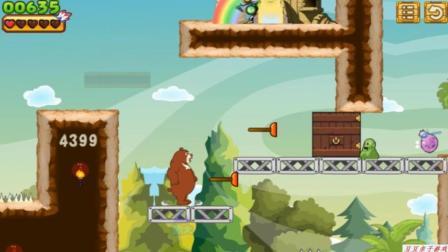 熊出没之熊大大冒险闯关玩具动画视频