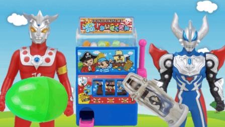奥特曼怪兽拼装人偶, 糖果机奥特胶囊奇趣蛋, 捷德奥特曼玩具