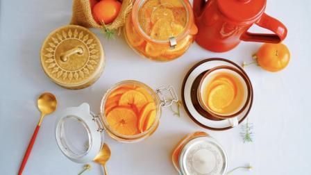 教你制作一款美容养颜适合一年四季冷热饮的水果茶-橙子茶