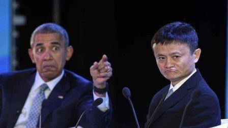 马云曾和奥巴马拌过嘴, 马云的回复让奥巴马面露难堪