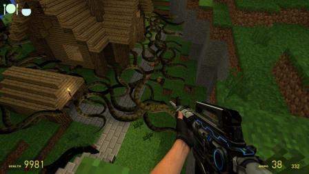 去蟒蛇堆里面找蛇蛋有多恐怖 GMOD沙盒模组