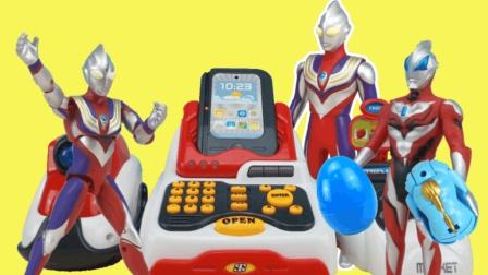 迪迦奥特曼超市买超可动惊喜盒玩, 奇趣蛋扭蛋, 奥特曼可动玩具