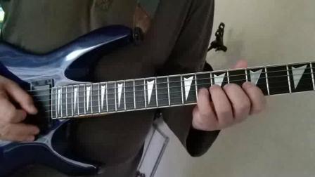 吉他基本功练习之加强三四指的练习