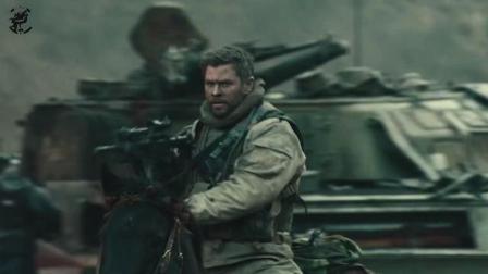 HK416与AK47突击步枪配合战马, 突击装甲坦克群, 并大获全胜