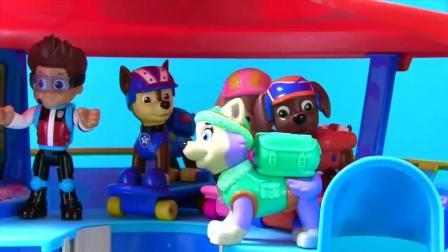 神奇的果冻玩具中藏着调皮的汪汪队立大功的狗狗