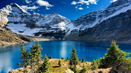 无人机带你鸟瞰加拿大国家森林公园, 画面如此美丽你想去吗?