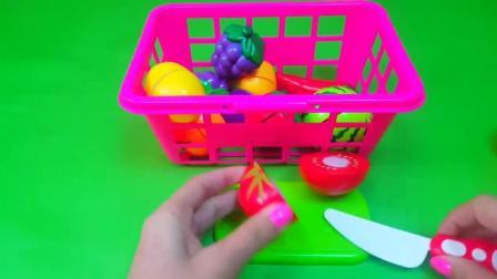 切好吃的西红柿和菠萝, 快乐的切水果游戏