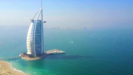 没去过迪拜? 那至少也要知道迪拜的这栋建筑吧! 震撼航拍!