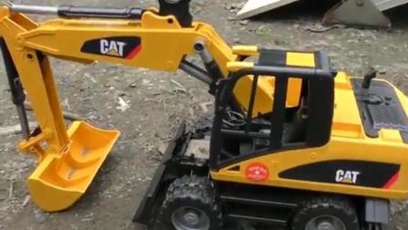 汽车总动员之认识工程汽车玩具动画视频