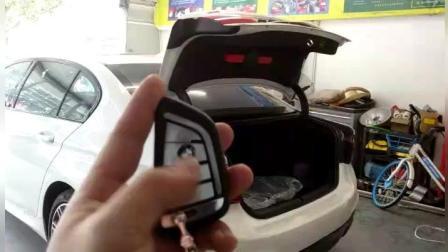 智能科技 18宝马5系G30G38改装电动尾门 轻松驾驭 TPSUV天派科技分享4008858040