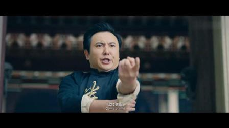卷帘门掌门用失传了已久的一阳指和狮吼功大战绿巨人浩克