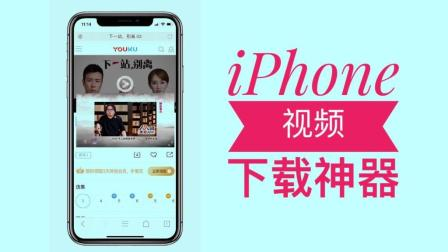iPhone视频下载神器, 能播就能下到相册!