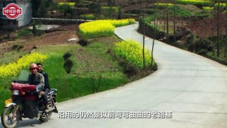 为什么农村新修的水泥路, 还沿用以前弯曲的老路基, 而不走直线?