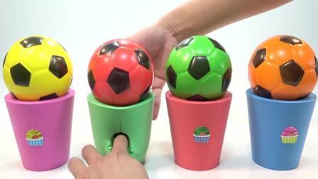 彩色的足球爱模拟沙玩具, 趣味儿童玩具