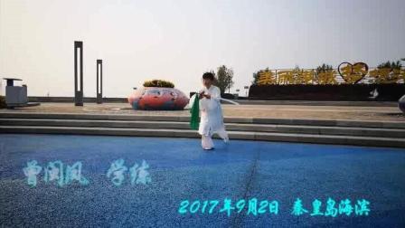 36式太极刀【曾闽凤学练】