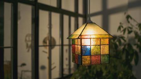 用滴胶为光芒永生, 高颜值琉璃灯第一眼就美爆了!