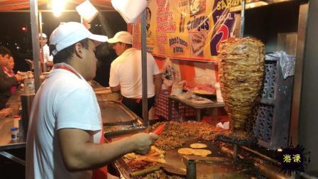 墨西哥真的毒贩横行? 我们在深夜去体验了墨西哥的美食大排档