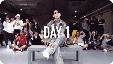 【4.29-5.1在重庆】Eunho Kim编舞Day 1