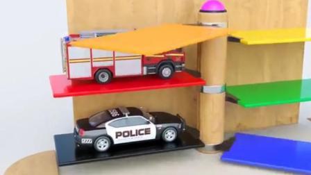 汽车总动员之认识汽车玩具动画视频
