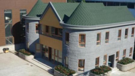 世界上首间3D房屋建成, 网友: 3D打印出的房屋能住吗?