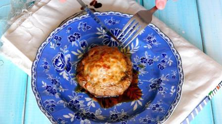 教你制作北美超流行的周末烧烤派对下酒菜-蘑菇酿肉丸