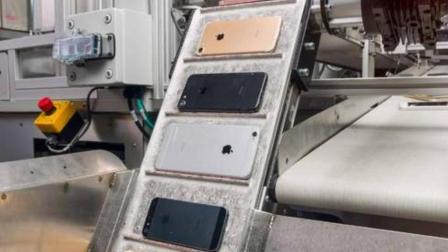 机器人从10万个iphone里回收了2斤黄金, 22斤稀土元素!