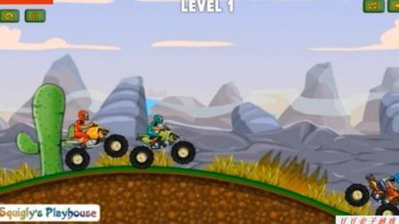 赛车总动员之越野车赛车玩具动画视频游戏
