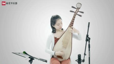 琵琶教程:D调七声音阶模进练习插图