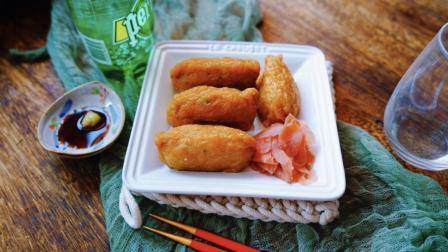 """超详细步骤教你制作味道最正宗超级美味的""""日本豆腐皮寿司"""""""