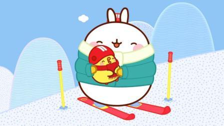 萌浪兔 第一季 51 滑雪
