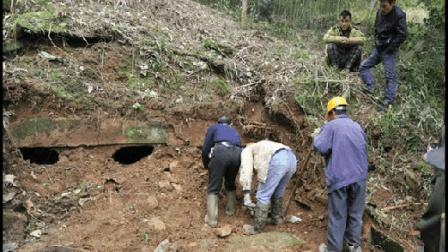 卫星图发现古墓遗址, 专家挖掘惊现大量毒蛇, 汽车诡异滑落悬崖