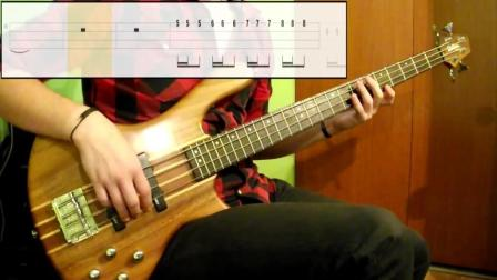 Lesson -3- Three Finger Technique Lvl-1 Bass Exercise- -Play Along Tabs In Video