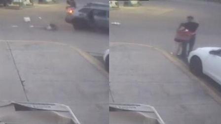 11岁女孩被劫后跳车逃跑