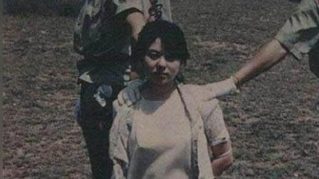 中国最美女囚犯, 22岁就被枪决, 临刑前做了一个奇怪的表情!