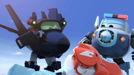 超级飞侠乐迪: 看一群海豹在冰上滑行