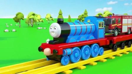 托马斯小火车之趣味车厢组之轨道大师之托马斯小火车运货物动画