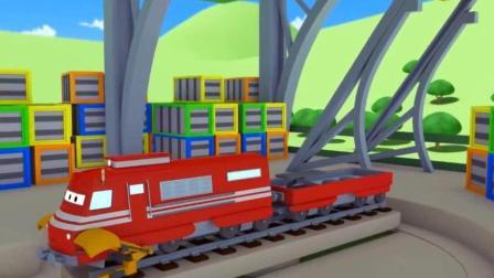 托马斯小火车和它 的朋友们之托马斯小火车铺路动画玩具