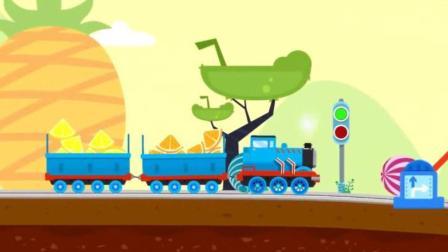 托马斯小火车和它的朋友们之搭建托马斯小火车轨道过河玩具