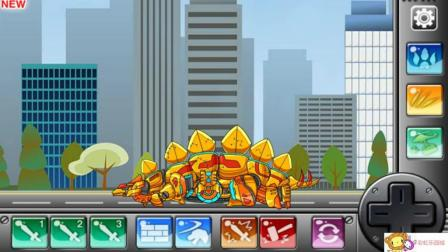 组装剑龙  恐龙总动员 恐龙世界 霸王龙
